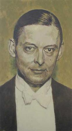 Portrait of T.S. Eliot <br/> Private collection
