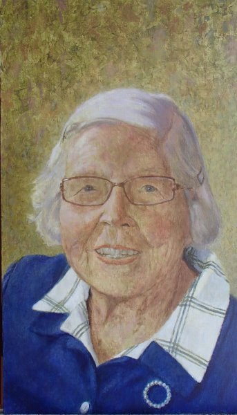 Julia at 97 <br/> Private collection