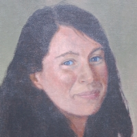 Portrait of Catherine Walton <br/> Private collection