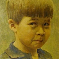 Chase at Three 1980 <br/> Private collection