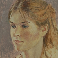 Portrait of Rebecca Kowaloff <br/> Price on request
