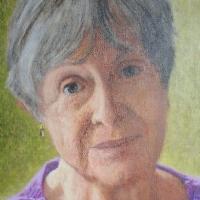 Portrait of Amelia Hagan <br/> Private collection